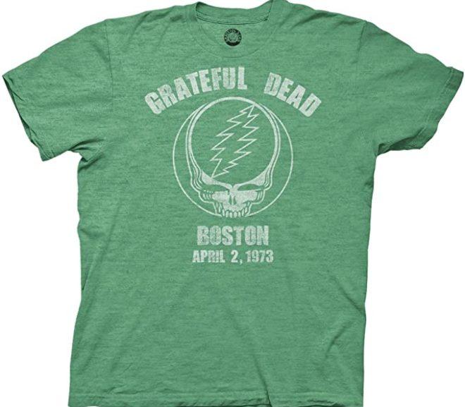 Grateful Dead Concert T-shirt – Boston 73