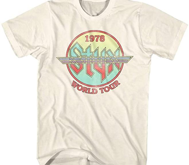 Styx – 1978 World Concert Tour T-Shirt
