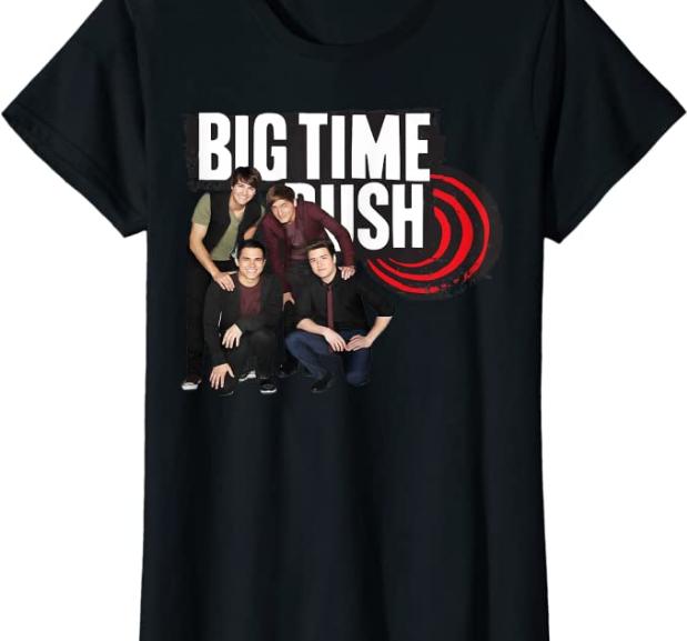 Big Time Rush – Pop Music T-Shirts