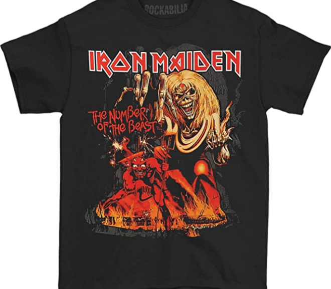 Iron Maiden – Number Of The Beast T-shirt