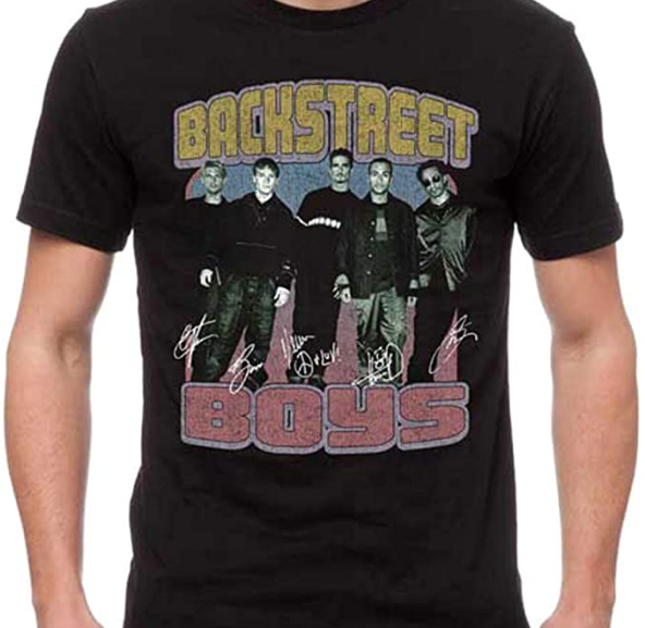 Backstreet Boys – Vintage Destroyed T-Shirt