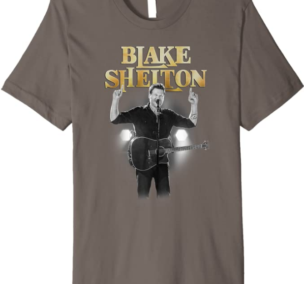 Blake Shelton – Gold Blake T-Shirt