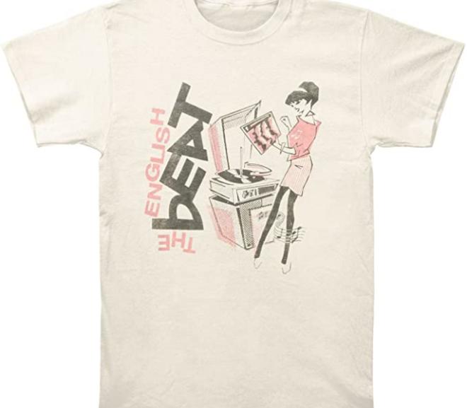 The English Beat – Rude Girl Logo T-Shirt