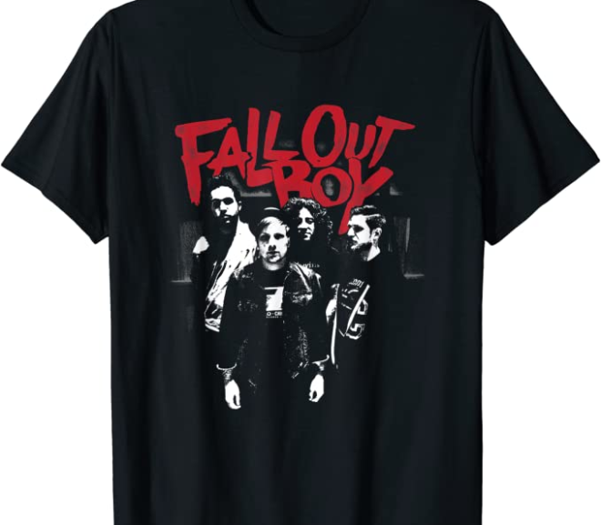 Fall Out Boy – Punk Scratch T-Shirt