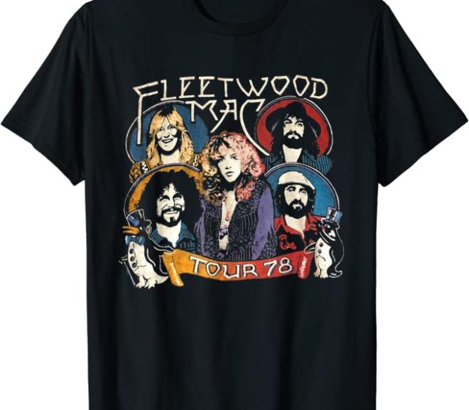 Fleetwood Mac – Vintage 78′ Tour T-Shirt
