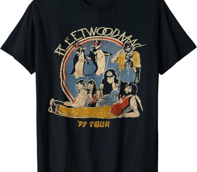 Fleetwood Mac – Vintage 77′ Tour Concert T-Shirt