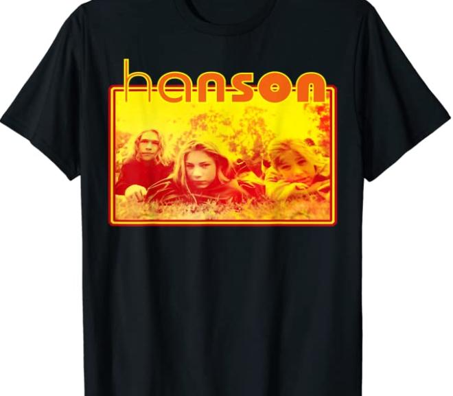 Hanson – Vintage 90's T-Shirt Apparel