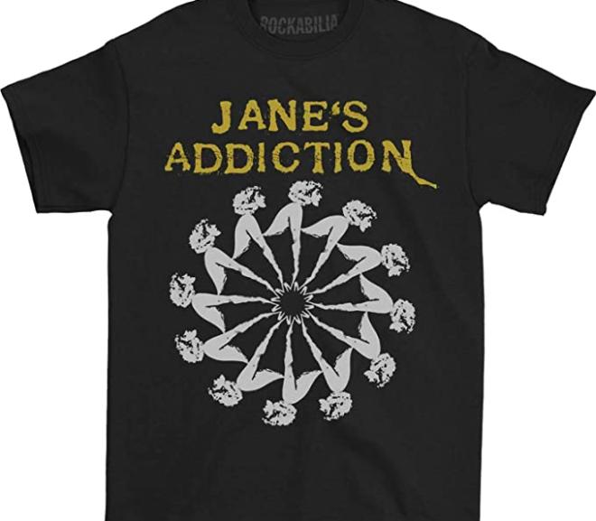 Jane's Addiction – Lady Wheel T-Shirt