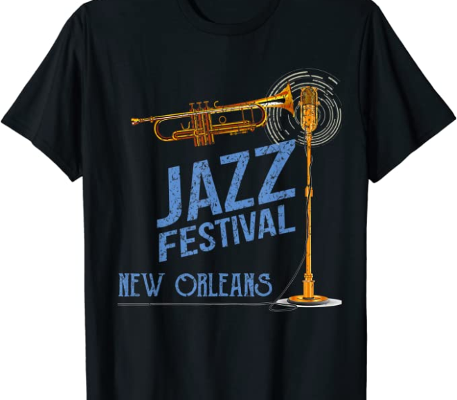 New Orleans – Festival of Jazz T-Shirts