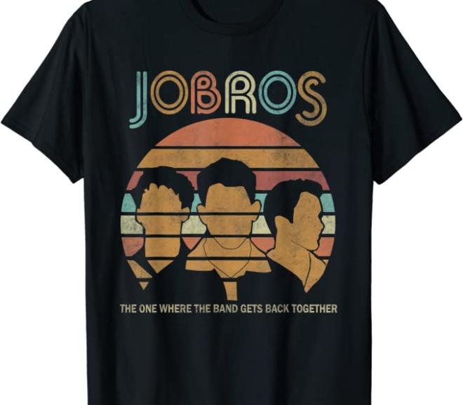 Jonas Bros – Tour Concert T-Shirts