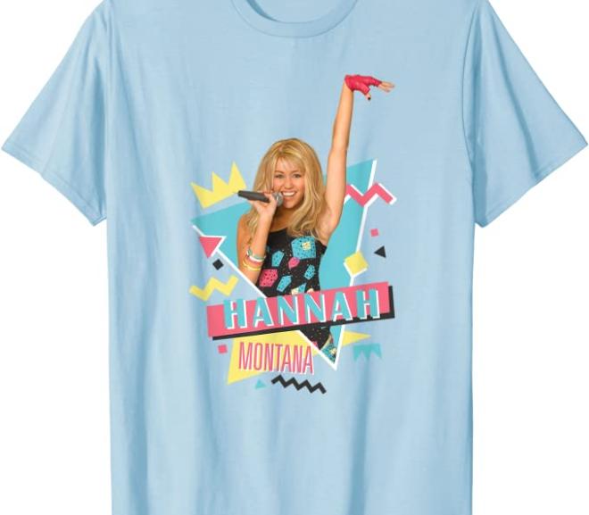 Hannah Montana – Vintage 90s Music T-Shirt