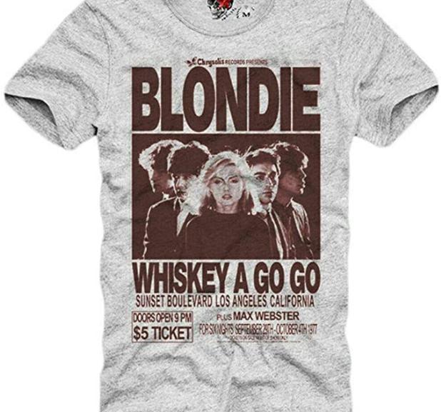Blondie – Vintage Whiskey A-GO-GO Rock T-Shirt