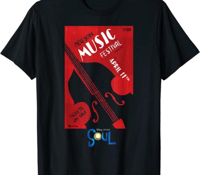Disney Pixar Soul – New York Music Festival T-Shirt