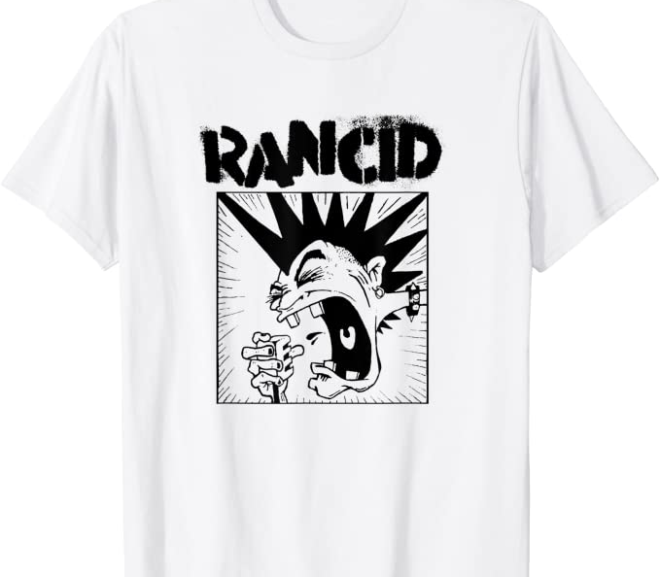 Rancid – Punk Rock Microphone T-Shirt