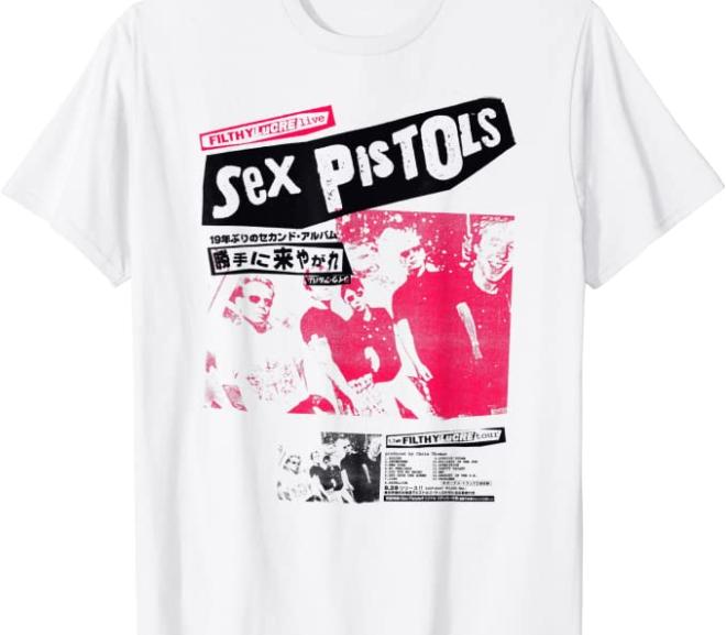 Sex Pistols – Vintage Japan Tour Photo T-Shirt
