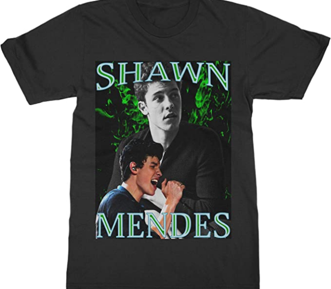 Shawn Mendes – Vintage Style Concert T-Shirt