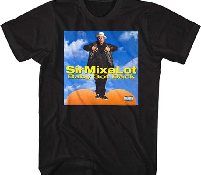 Sir Mix A Lot – Baby Got Back Album Cover T-Shirt