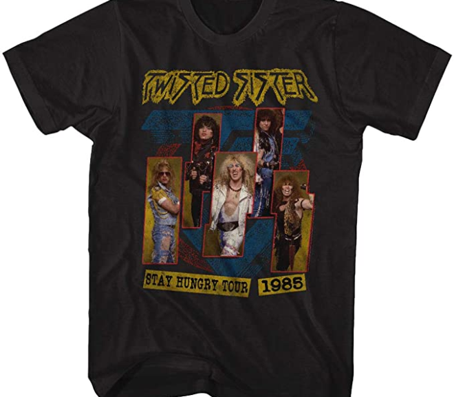 Twisted Sister – 1985 Stay Hungry Tour T-Shirt