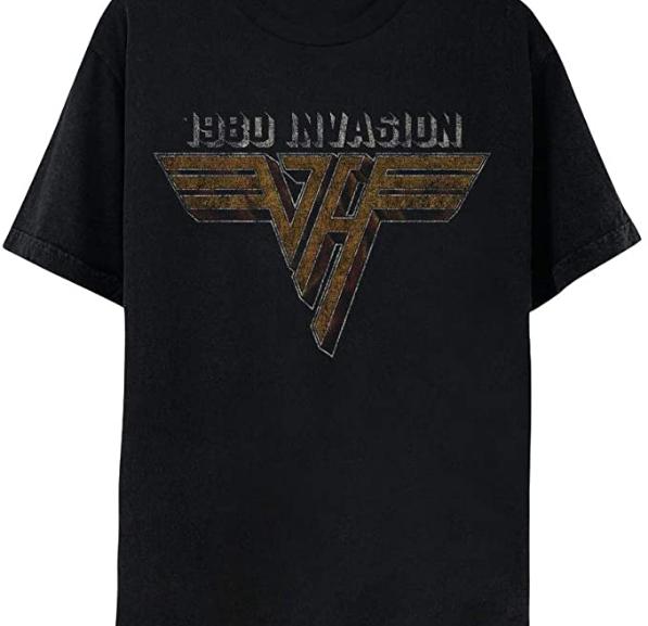 Van Halen – 1980 Invasion T-Shirt