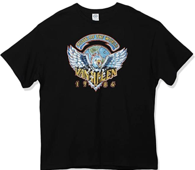 Van Halen – 1984 Tour Of The World T-Shirt