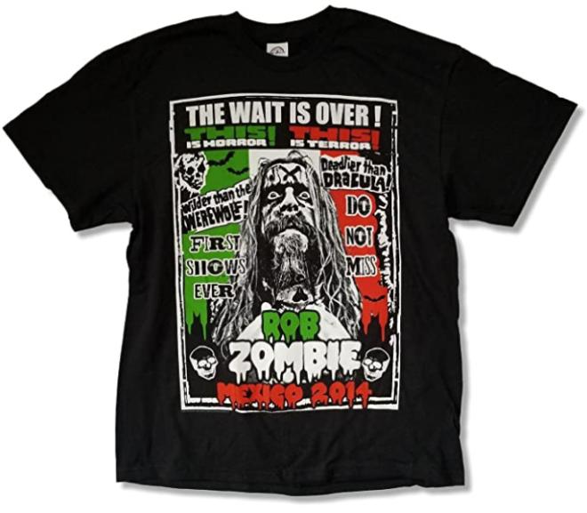 Rob Zombie – Mexico 2014 Tour T-Shirt