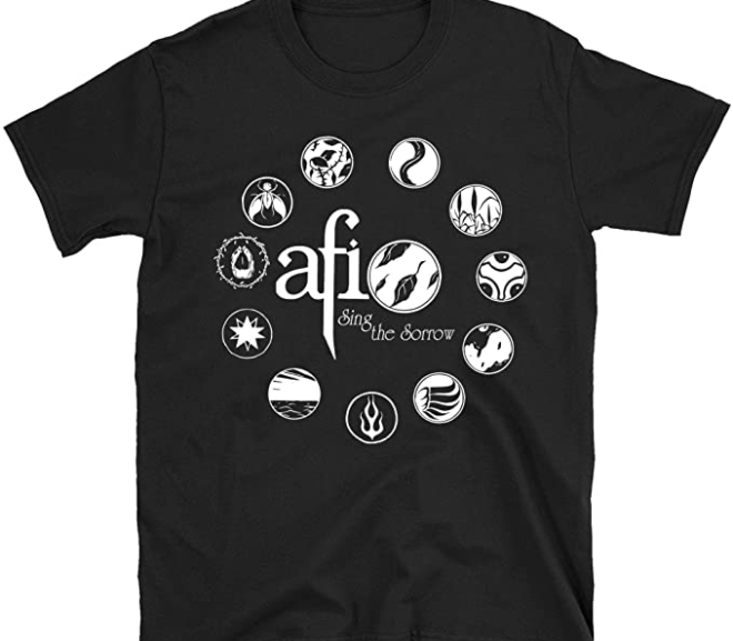 AFI – Sing The Sorrow Alternative Rock T-Shirt