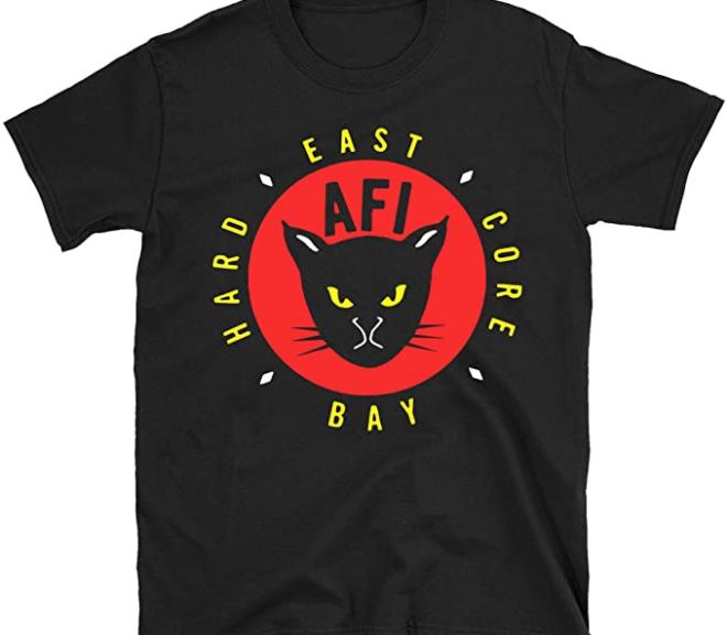 AFI – East Bay Hard Core Kitty T-Shirt