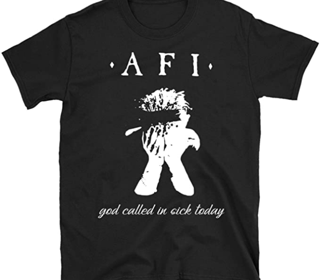 AFI – God Called in Sick Today T-Shirt