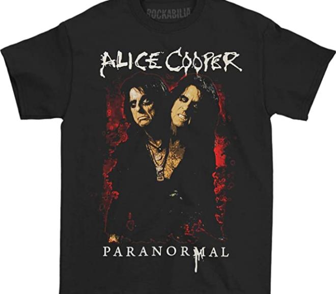 Alice Cooper – Paranormal Splatter T-Shirt