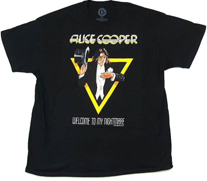 Alice Cooper – Welcome to My Nightmare Triangle T-Shirt