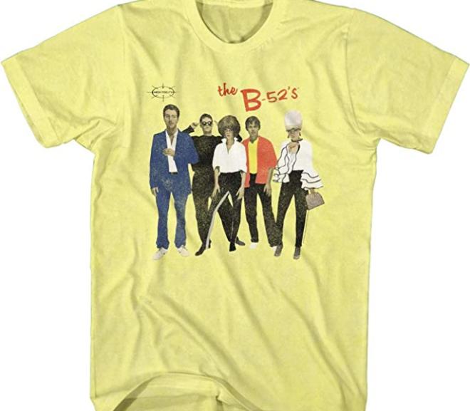 The B-52's – Retro Band Photo T-Shirt