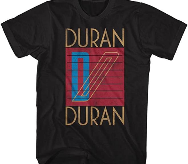 Duran Duran – Logo Classic Style T-Shirt