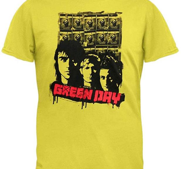 Green Day – 09′ Poster Tour T-Shirt