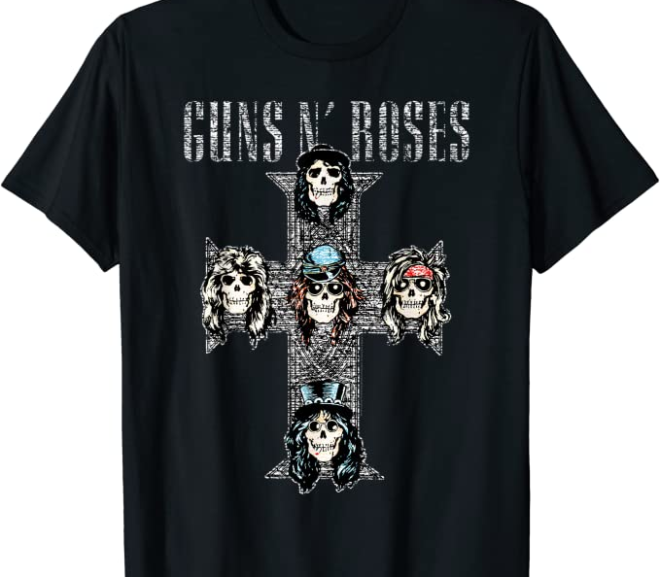 Guns N' Roses – Vintage Cross T-Shirt