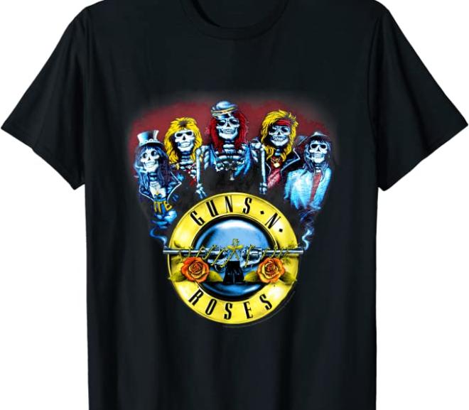 Guns N' Roses – Skeletons & Bullets T-Shirt