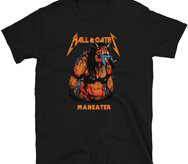 Hall and Oates – Maneater Metal Beast T-Shirt