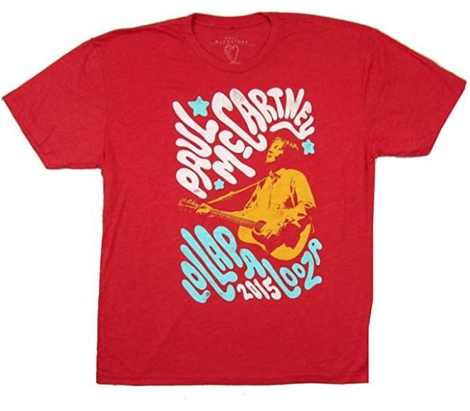Lollapalooza – 15′ Music Festival Paul McCartney T-Shirt