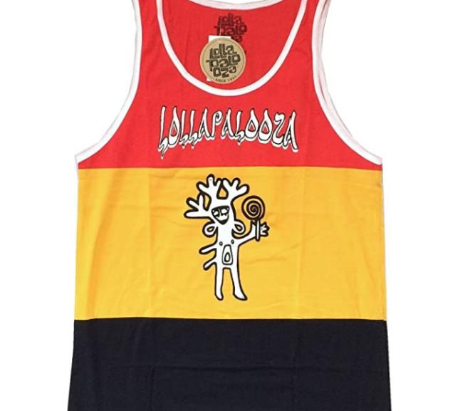 Lollapalooza – Festival Basketball Jersey Tank T-Shirt