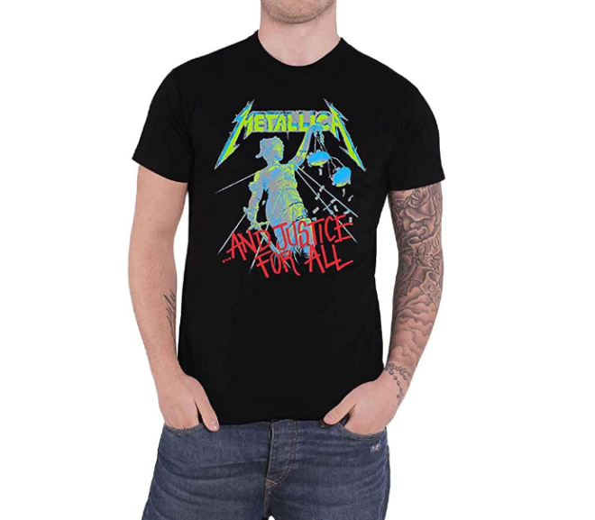 Metallica –  And Justice For All T-Shirt