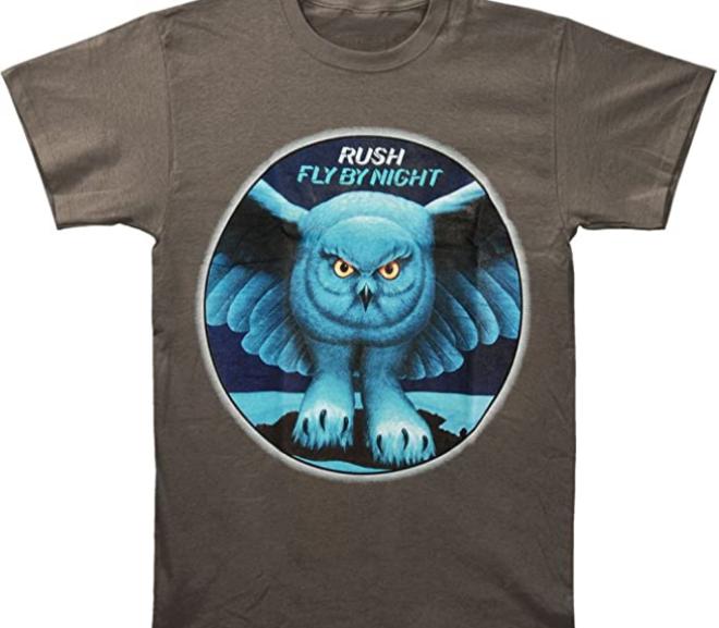 Rush – Fly by Night Album T-Shirt