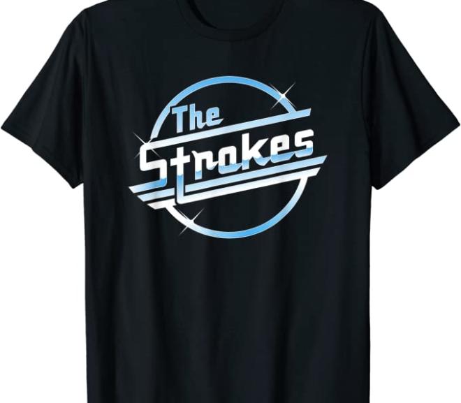 The Strokes – Official Logo T-Shirt