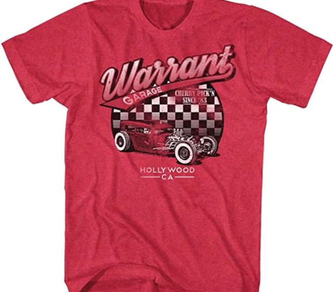 Warrant – Garage Cherry Pick'n Since 83′ T-Shirt