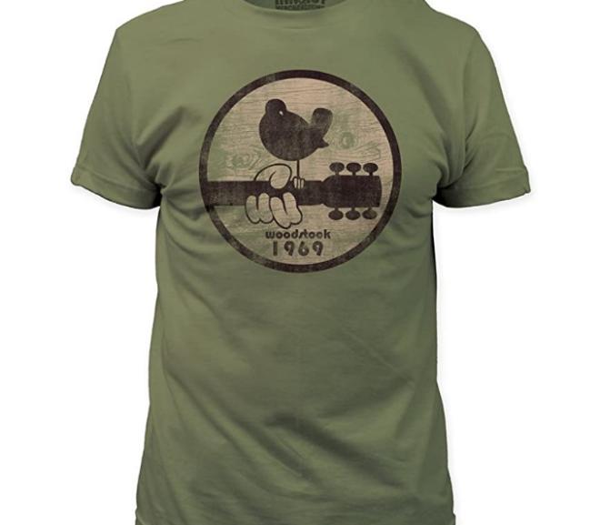 Woodstock – 1969 Distressed Style Festival Logo T-Shirt